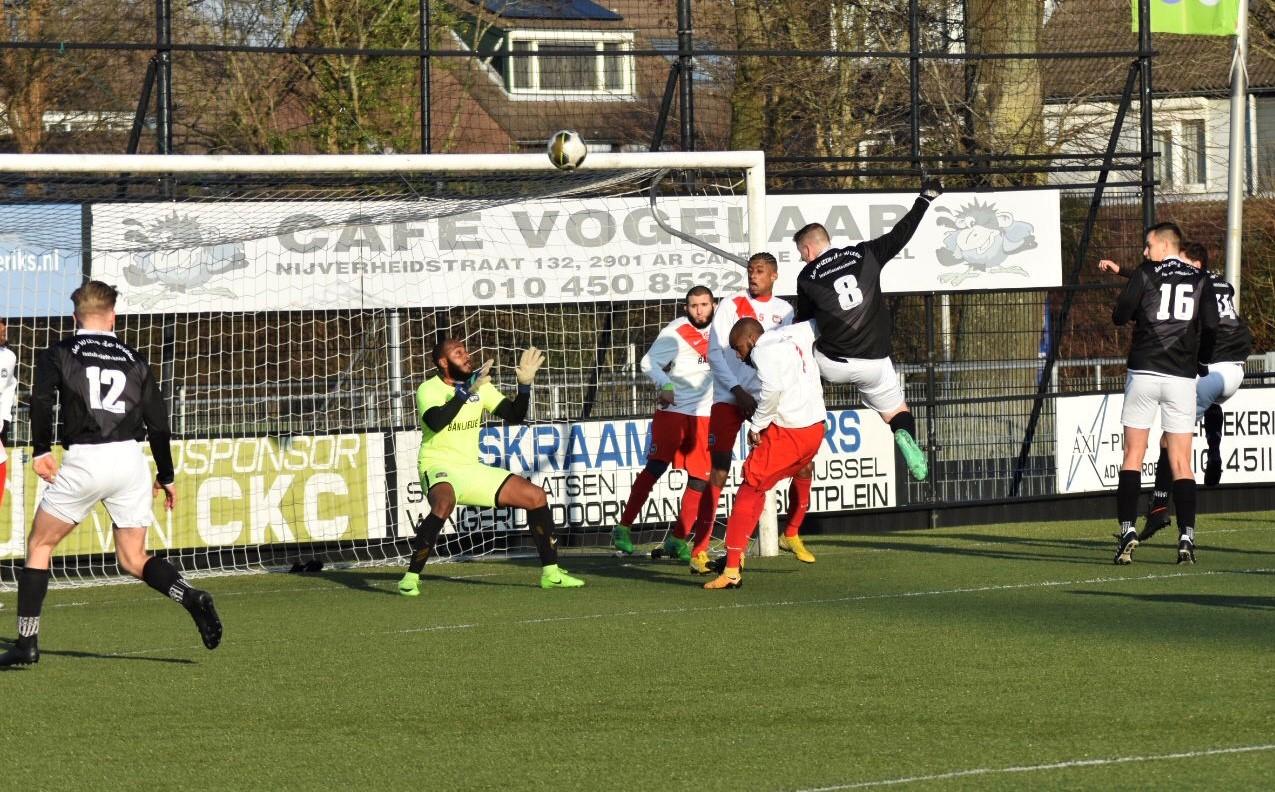 CKC wint gelukkig één punt in zijn thuiswedstrijd tegen HWD