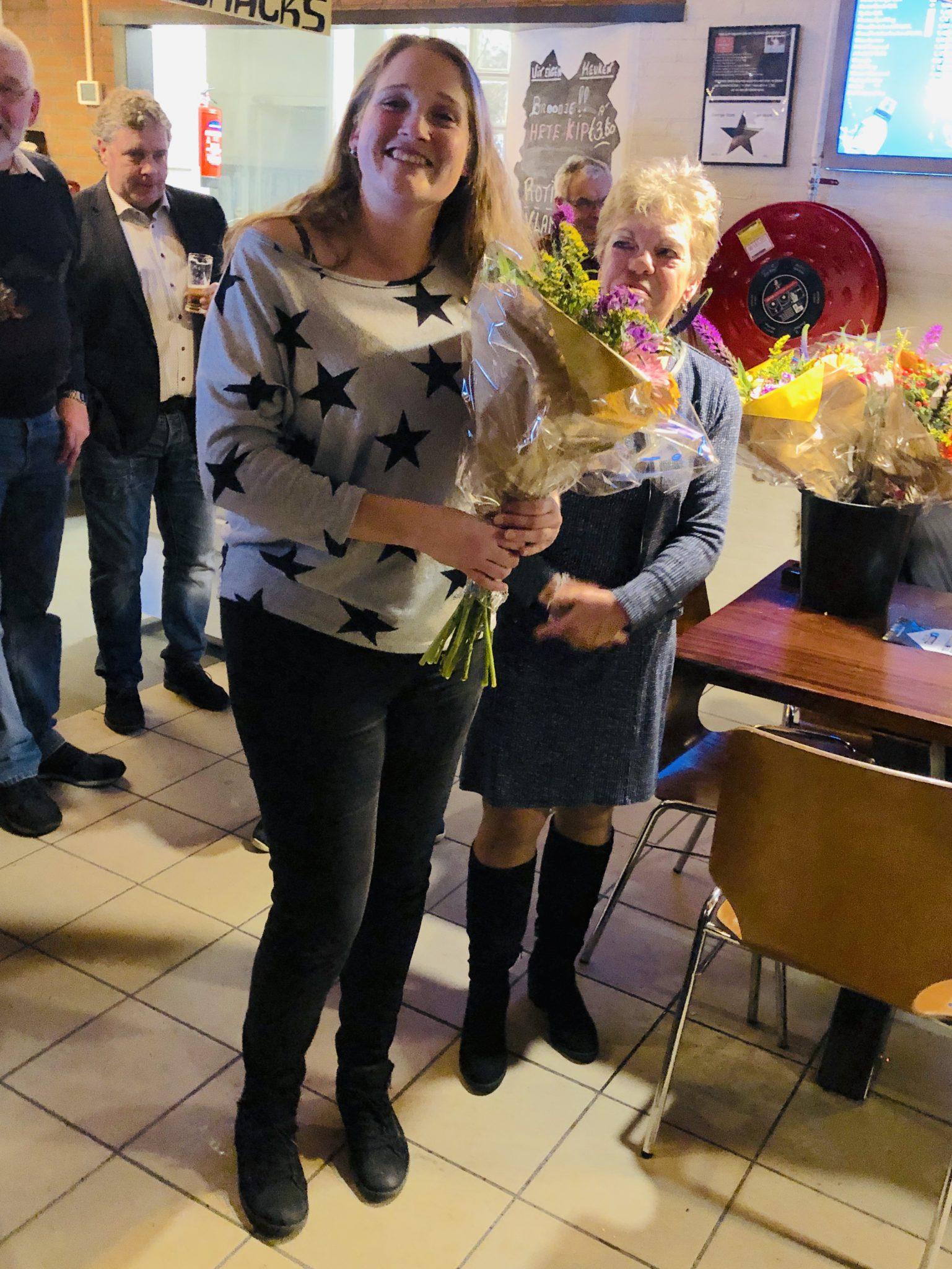 Diana van Lienden, 25 jaar lid
