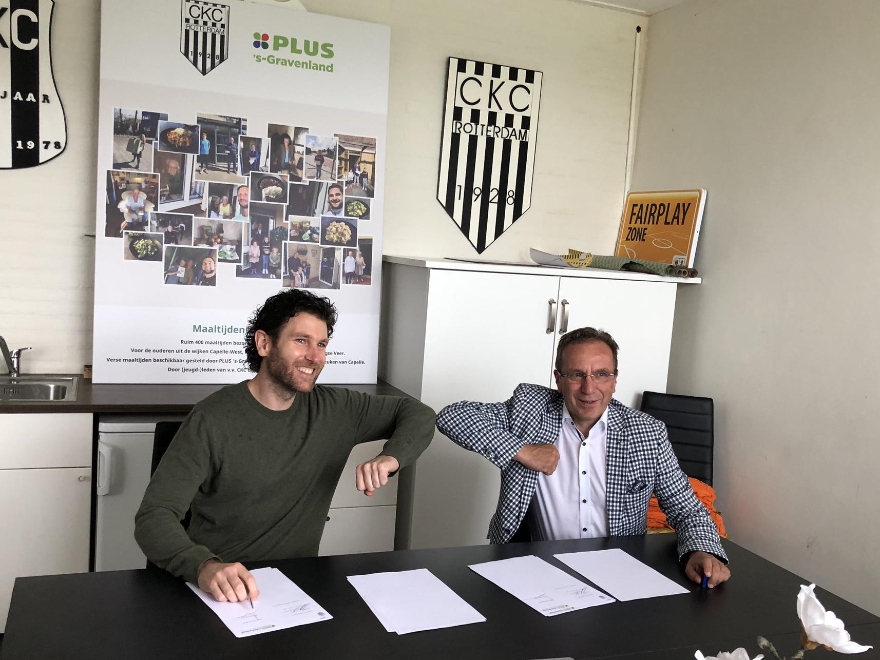 PLUS en De Witte de Witte verlengen hun sponsorcontracten met CKC