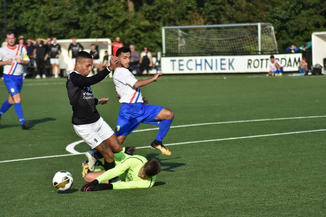 CKC wint in de slotfase van NOC Kralingen.