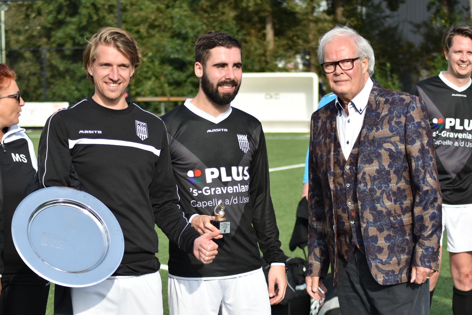 CKC wint zijn eerste competitie wedstrijd erg gemakkelijk van SC Excelsior.