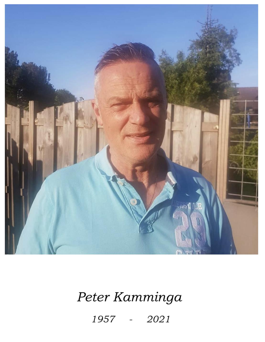 Peter Kamminga overleden